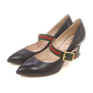 Gucci Pumpus   Women  Black Leather (calf) 1519345