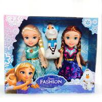 Frozen 2 Princess Anna Elsa Dolls For Girls Toys Princess Anna Elsa  Small Dolls