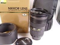 NIKON  AF S  Nikkor 24 - 70 mm 2,8  G ED  -gebraucht