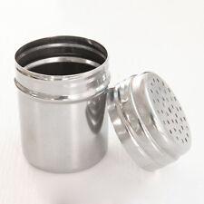 Gewürzstreuer Salzstreuer Edelstahl Gewürzdosen-Gewürzglas Pfefferstreuer Neu