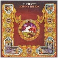 THIN LIZZY - JOHNNY THE FOX (REMASTERED) CD  10 TRACKS CLASSIC HARD ROCK  NEU