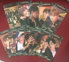 Wanna One 0+1=1 I PROMISE YOU Taiwan Promo 12 Bookmarker cards