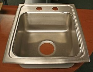 "Elkay 15"" Drop-In Sink; Model# LRAD1517652"