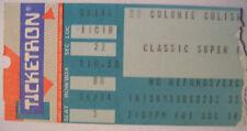 The Turtles Herman's Hermits & Paul Revere & The Raiders 80s Concert Ticket Stub