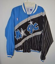 4068f6b3090 RARE Vintage 90s Orlando Magic Champion NBA Warm up Jacket Mens L Shaq  Hardaway