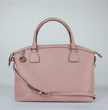 7b017c16895b Gucci Powder Pink Leather GG Charm Convertible Dome Bag with Strap 449660  5806