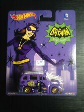 Hot Wheels School Busted Catwoman Batman Pop Culture Purple free shipping