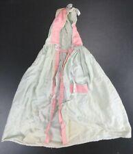 "Vintage 50's , 60's Doll Clothes - Blue Cloak w/ Pink Trim - 14"" from shoulder"