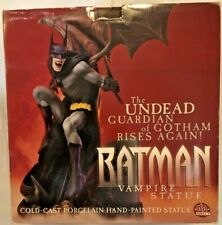 BATMAN VAMPIRE STATUE Full Size LTD ED DC Direct Paquet Sculpt 336/2800 MIB