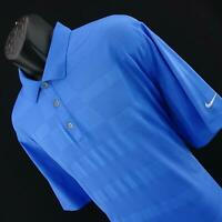 Mens Nike Golf Dri Fit Tour Performance Polka Dot Tennis Polo Shirt Size XXL 2XL