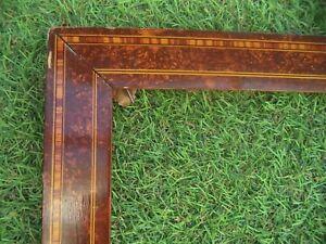 ANCIEN CADRE BOIS ART DECO   FEUILLURE 60 X 47 FRAME  FRENCH ANTIQUE