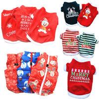 Christmas Santa Pet Cosplay Clothes Warm Coat Cat Dog Cat Warm Clothing Apparel