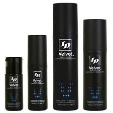 ID Velvet Silicone Personal Lube Luxuriously Smooth Sex Lubricant All Sizes