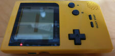 NINTENDO GAME BOY POCKET HANDHELD SYSTEM / CONSOLE YELLOW TESTED MGB-001
