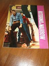 BROCHURE,1958,WESTERN,Ritorno a Warbow,Philip Carey,RAY NAZZARO,DUGGAN