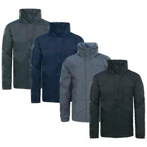 Mens Drexel Waterproof Windproof Fleece Lined Jacket