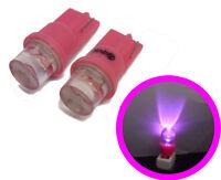 Pink LED Sidelight Bulbs Lighting Lamp For Peugeot 106 205 206 306 Gti