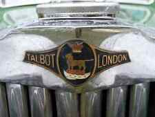 Talbot Bonnet Grille Boot 2423 A4 Photo Poster