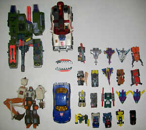 Transformers Armada lot Megatron Red Alert Hoist Sideswipe Mini-Cons