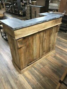 Industrial Bar Counter / Reception Desk