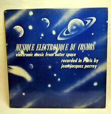 Rare LP Vinyl Jean Jacques Perrey Musique electronique du cosmos Musicues 1962