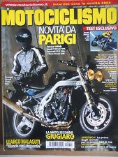 MOTOCICLISMO n°11 2001 Yamaha TDM 900 Suzuki V-Strom 1000 Kawasaki ZZ-R 120[P34]