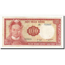 [#164965] South Viet Nam, 100 Dong, UNDATED 1966, KM:19a, EF(40-45)