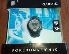 New Garmin Forerunner 410 GPS-Enabled Sports Fitness Watch w/ Heart Rate Monitor