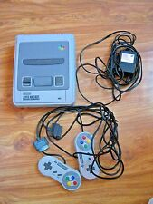 Super Nintendo SNES system SNSP-001A, cables, 1992, excellent working , perfect
