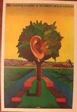 "Milton Glaser National Academy of Recording Arts Pop Art Poster Pop Art 15"""