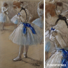 "24W""x36H"" BALLERINA DANCER by EDGAR DEGAS IMPRESSIONIST CANVAS"
