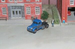 N scale Custom Built 1940 Ford Semi Tractor