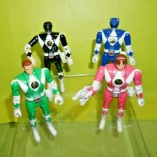 Mighty Morphin Power Rangers Vintage 1993 Bandai Flip Head Figures Lot Of 4 COOL