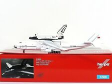 Herpa Wings Antonov AN-225 1:500 Mriya & Buran Orbiter (518895)