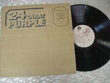 """Deep Purple  """"24 Carat Purple""""  Vintage Vinyl LP Warner Bros. Records WS 4616"""
