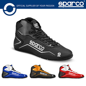 001269 Sparco K-Pole Kart Boots Race Karting Shoes in 6 Colours Sizes EU 26-48