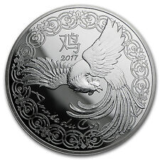2017 France Silver €10 Year of the Rooster Proof (Lunar Series) - Sku #103499