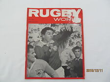 Rugby Union Magazine--Rugby World July 1966.