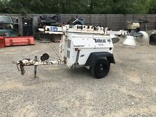 Bobcat Portable Light Tower 6kw Generator Kubota Diesel Only 2140 Hours