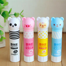 New listing 2 Pcs Cute Bear Repositionable Solid Glue Sticks For Paper Card Of Sale Sch F7T9