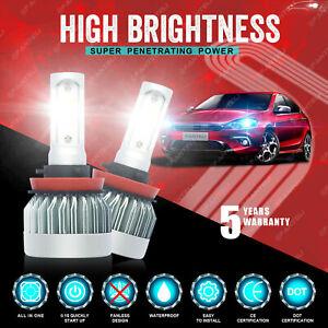 CREE LED Headlight Set H8 H11 1705W 255750LM 6000K Low Beam Fog Bulb HID White