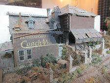 "AWESOME ABANDONED  BUILT DETAILED & WEATHERED MASTER CREATION ""COACH WORKS"""