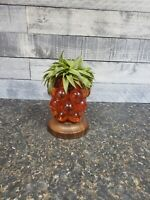 Vtg MCM Lamp? Sculpture? Pineapple Lucite Very Unique Cool!!
