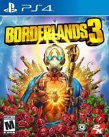 Borderlands 3 Playstation 4 PS4 Brand New Sealed