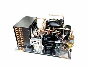 Combo Air+Water Cooled (NT2168GKV) Condensing Unit 3/4 HP Low Temp, R404A, 115V