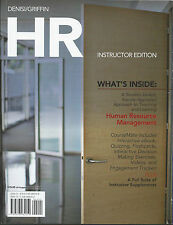 HR Human Resource Management by A DeNisi (2011, Paperback) Instructor Edition