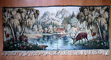 CHOICE VINTAGE  TAPESTRY WALL LANDSCAPE PICTURE, from GERMANY!!!