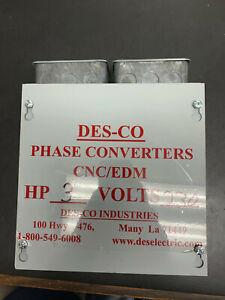 3 HP Phase Converter Panel