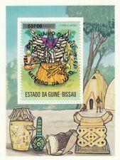 281351 / Block ** MNH Guine Bissau UPU 1974