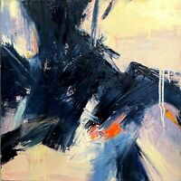CAROLE McDERMOTT ABSTRACT EXPRESSIONIST MODERNIST CONTEMPORARY PAINTING